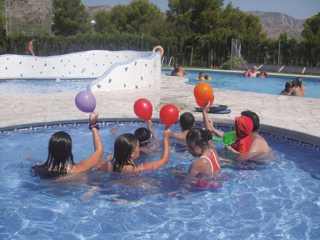 Entertainment organised Camping La Masia - L'Hospitalet de l'Infant