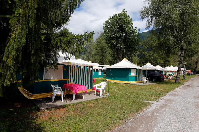 Rental - Canvas Bungalow Without Toilet Block 2 Bedrooms - Campéole L'Etang Blanc