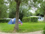Pitch - Pitch without car - Camping de l'Orival