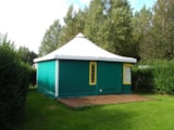 Rental - Canvas Bungalow With Private Facilities - Camping de l'Orival