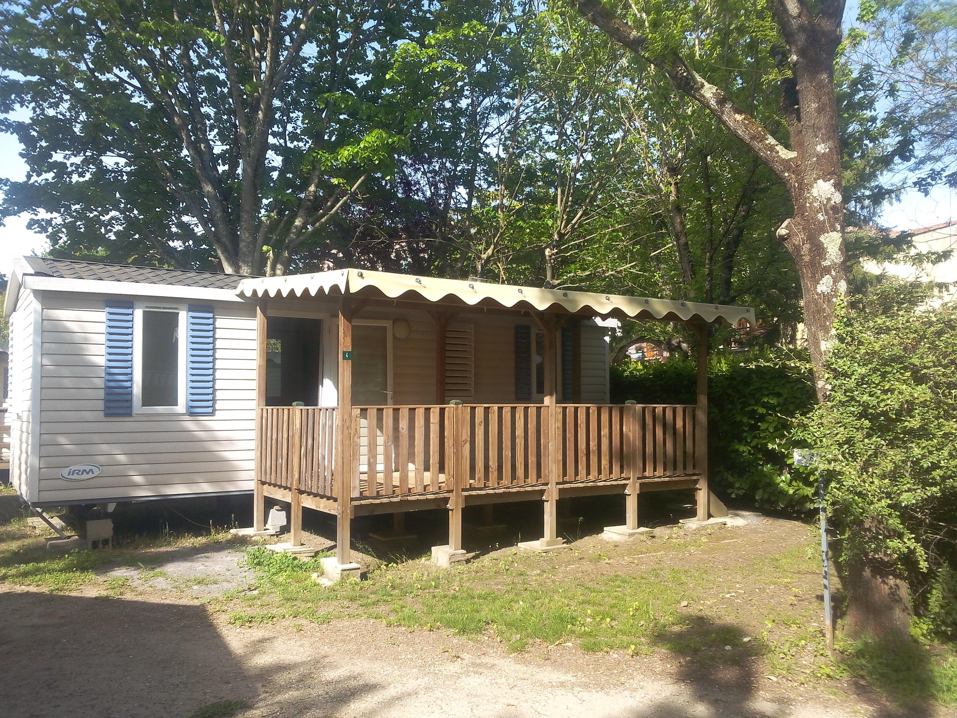 Location - Mobil Home Lauriers - 2 Chambres - Camping Le Clos