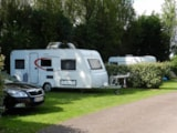 Pitch - Pitch : car + tent/caravan or camping-car - Camping Le Rivage