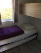 Rental - Tit'home Toilé - 2 bedrooms (without toilet blocks) - Camping Le Rivage