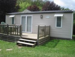 Location - Mobil-Home 2 Chambres - Camping Le Moulin Brûlé