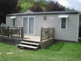 Rental - Mobile Home 2 Bedrooms - Camping Le Moulin Brûlé