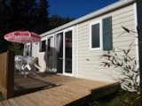 Rental - Mobile Home 3 Bedrooms + Air-Conditioning - Camping Le Moulin Brûlé