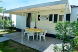 Rental - Mobilhome + Auto + Wc + Tv + Air Conditioning - Camping Parco Capraro