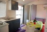 Rental - Mobilhome 2 people + Auto + WC + TV + air conditioning - Camping Parco Capraro