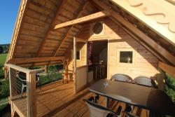 Accommodation - Cabane Les 12 Cols - Camping Les 12 Cols