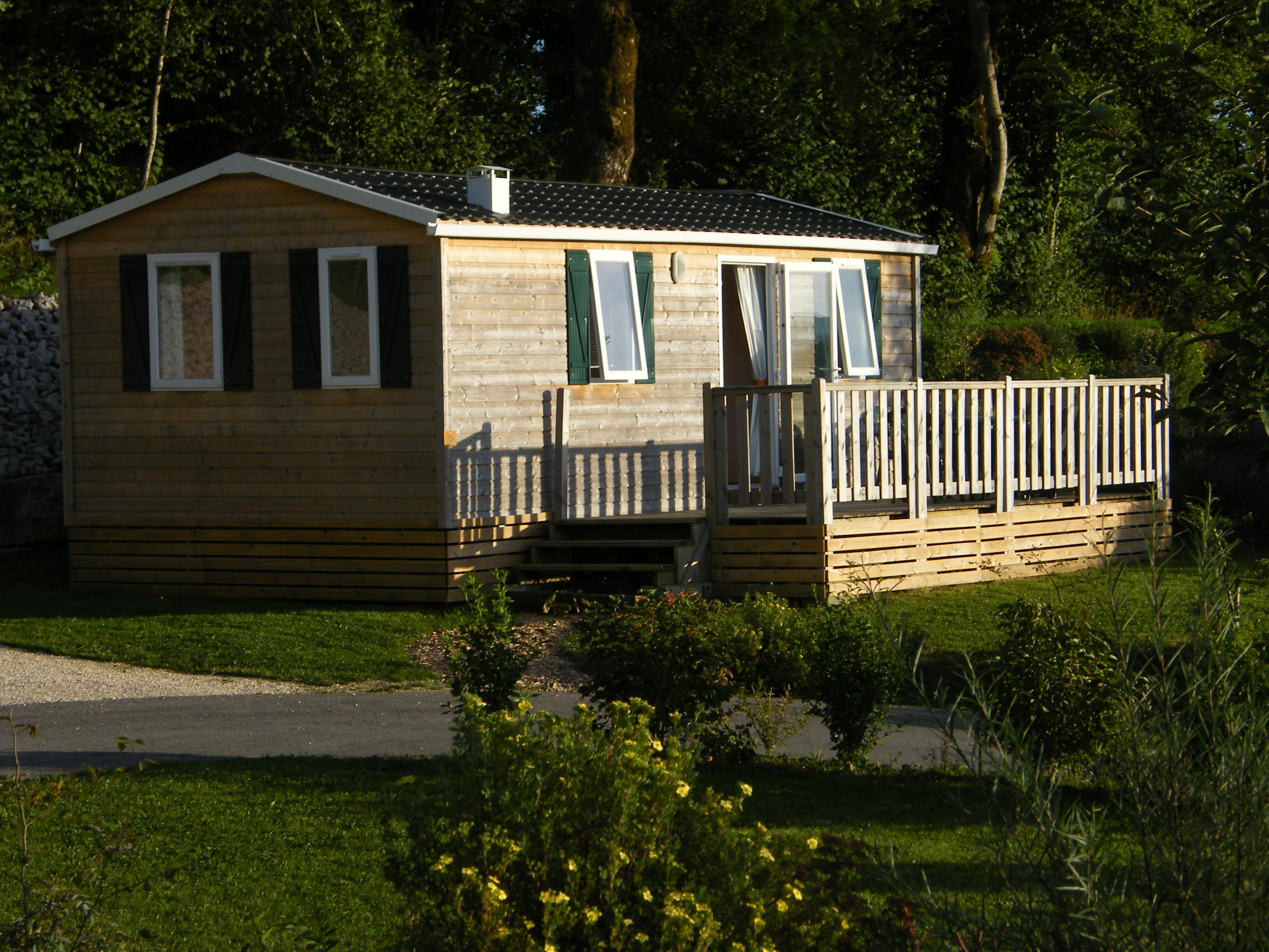 Location - Mobile Home - Camping Les 12 Cols