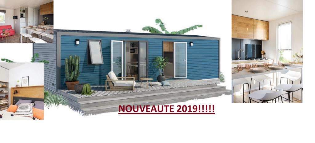 Mobile Home 7 Îles Super Cordélia (3 Bedrooms)