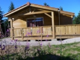 Rental - Chalet for disabled people with terrace - Chalets du Haut Forez