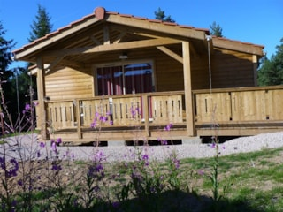 Chalet for disabled people with terrace