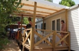 Rental - Mobil Home Premium 38M² (Adapted To The People With Reduced Mobility) 2 Bedrooms - Camping Les Cadenières