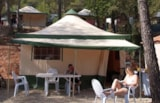 Rental - Cyrus Découverte  20 M² 2 Bedrooms Without Toilet Blocks - Camping Les Cadenières
