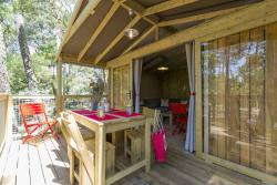 Eco-Lodge: 32m², 2 bring to room temperature terrace