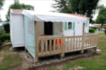 Rental - Mobile Home Privilège (2 bedrooms) 24-28m² + wooden terrace (new 2016 - 10 years) - Camping les Alouettes