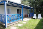 Rental - Chalet Privilège (3 bedrooms) 30-32m² (5-10 years) - Camping les Alouettes
