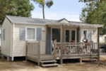 Huuraccommodaties - MOBIL-HOME Classique 2 kamers - terras - Camping Le California