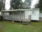 Huuraccommodaties - MOBIL-HOME Classique 3 kamers - terras - Camping Le California