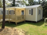 Huuraccommodaties - MOBIL-HOME Confort 3 kamers - terras - Camping Le California
