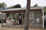 Huuraccommodaties - CHALET CANNELLE 2 kamers - Camping Le California