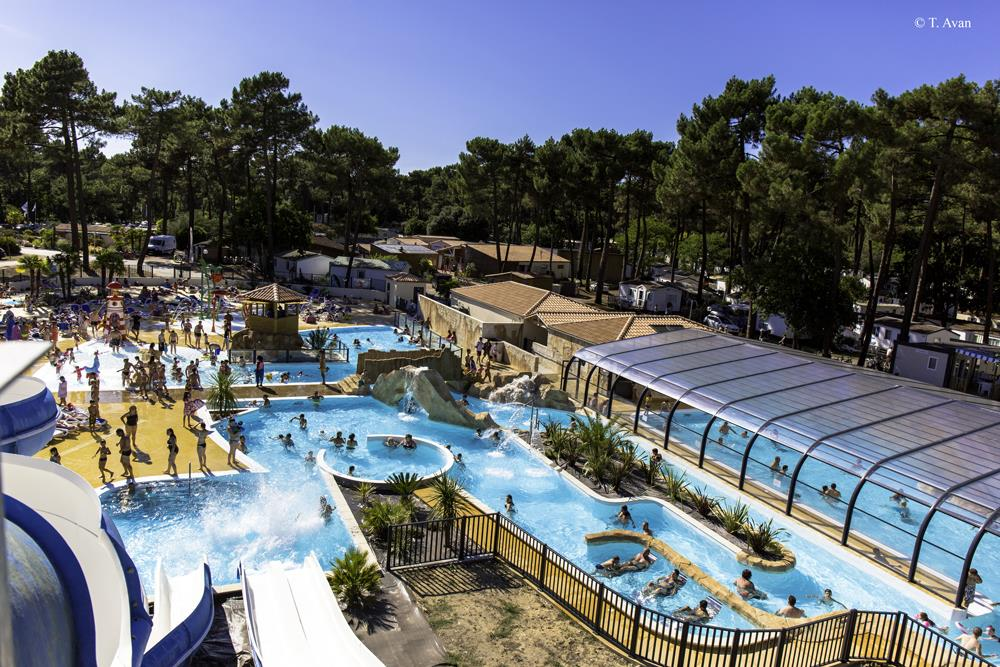 Mare, piscina Camping Palmyre Loisirs - Les Mathes La Palmyre
