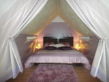 Rental - Tent with double bed - Camping Les Boucles de la Moselle