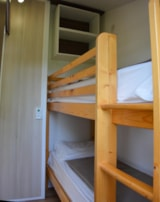 Rental - Mobile home Confort 31m² - 2 bedrooms (adapted to the people with reduced mobility) included access to the inside swimming pool - Camping TY NENEZ