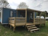 Rental - Mobil-Home Privilege 2019 2 Chambres - Lave Vaisselle - Lit 160 - Douche 90X100 - Camping TY NENEZ