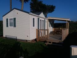 Mobile-Home Oceane Louisiane 30M² / 2 Bedrooms - Half-Covered Terrace