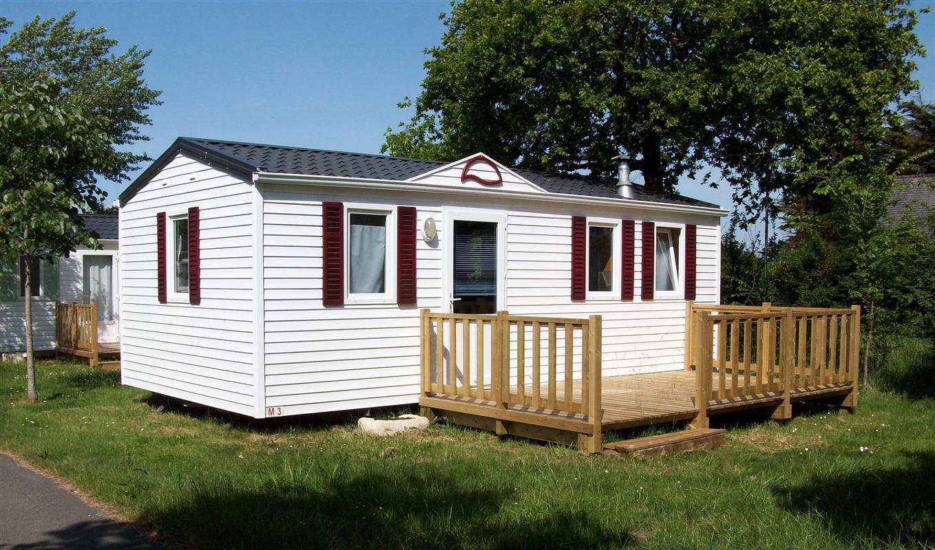 Location - Mobil-Home O'phea 724 26 M² - 2 Chambres - Camping de Ker-Lay