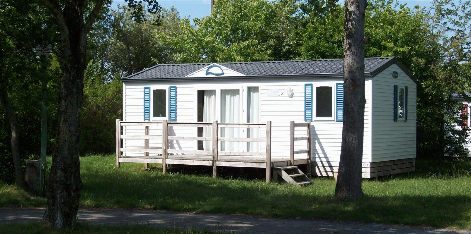 Location - Mobil-Home O'phea 784 29 M² 2 Chambres / Terrasse - Camping de Ker-Lay