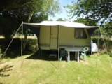 Rental - Caravan Adria (1991) - without toilet blocks - Camping Les Cerisiers