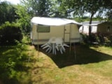 Rental - Caravan Adria (1992) - without toilet blocks - Camping Les Cerisiers