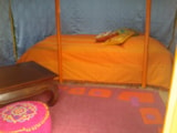 Rental - Mongolian Yurt - without toilet blocks - Camping Les Cerisiers