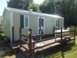 Rental - Mobile-home Rideau Primo Duo 28m² - Camping Les Cerisiers