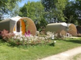 Rental - Coco Duo - without toilet blocks - Camping Les Cerisiers