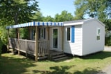 Rental - Mobile Home Confort Plus Titania (3 Bedrooms) - Camping Blanche Hermine