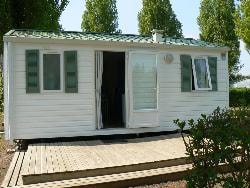 Mobil-home Eco 23m² 2 chambres + terrasse