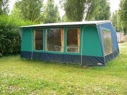 Furnished tent Eco 28m² 3 bedrooms