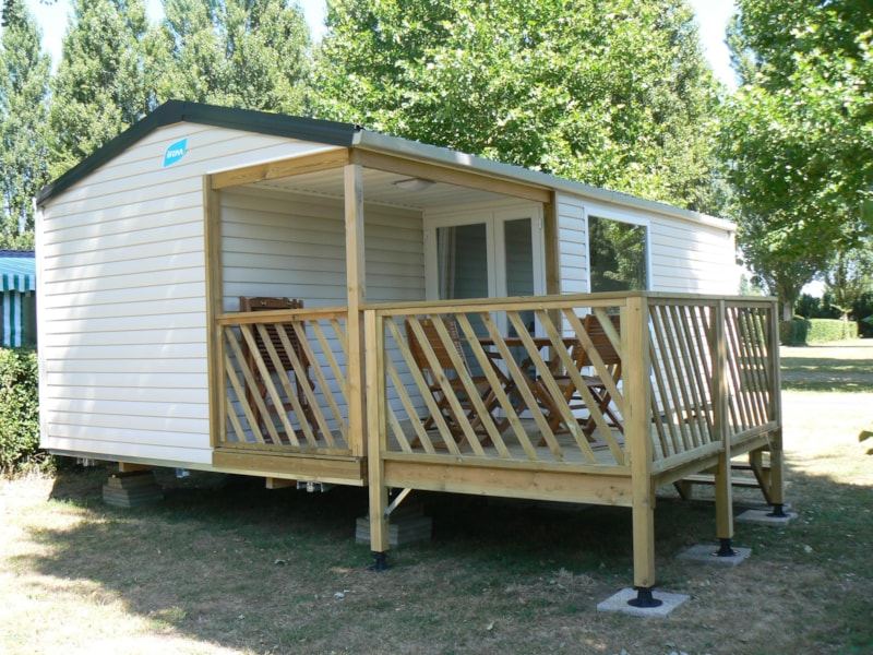 Mobile home Confort+ 24m² 2 bedrooms + terrace