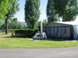 Pitch - Pitch tent package - car, tent without electricity - Camping Sites et Paysages KANOPÉE VILLAGE
