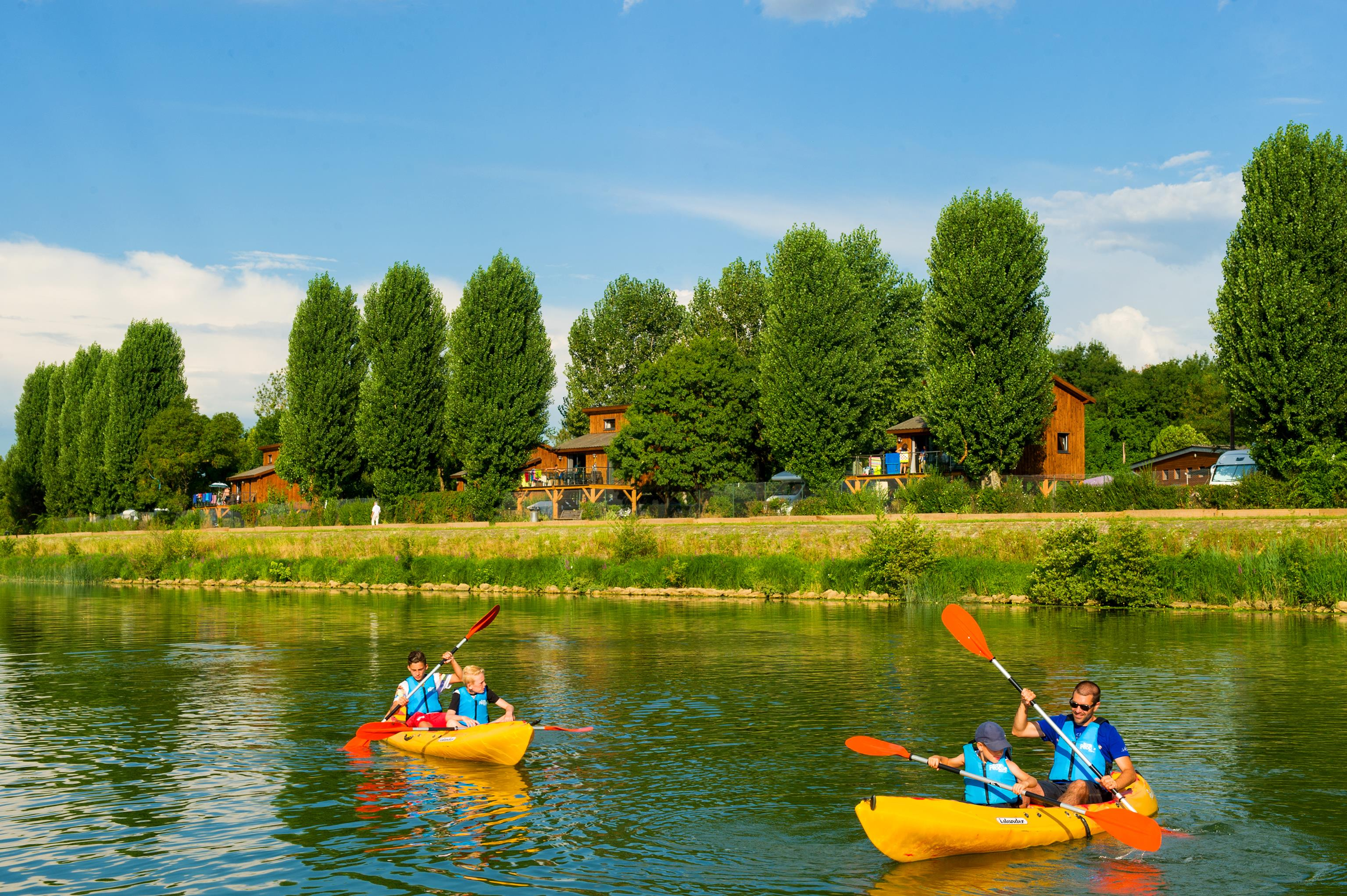 Region Camping Sites et Paysages KANOPÉE VILLAGE - TREVOUX