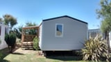 Rental - Mobil-home Confort 25-28m² (2 bedrooms) sheltered terrace - Camping Grand'R