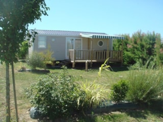 Mobil-Home Grand Confort* 30M² (2 Bedrooms) Sheltered Terrace - 2 Deckchairs + Television