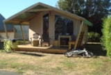 Rental - Canvas Bungalow Sahari 22M² - No Bathroom - Sink With Cold Water - Camping Grand'R