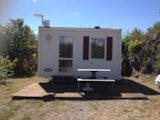 Rental - Mobilhome 17M² - Camping Les 4 Templiers