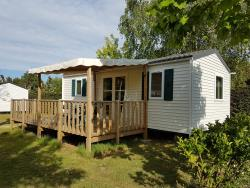 Mobile-Home Rapidhome Lodge 2 Bedrooms 29M² + Covered Terrace, 2 Bedrooms, Lounge/Kitchen Area, Bathroom + Wc, Tv Included