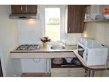 Rental - CONFORT+ Mobile home 2 bedrooms 31m² - Wheelchair friendly + terrace - Campilô